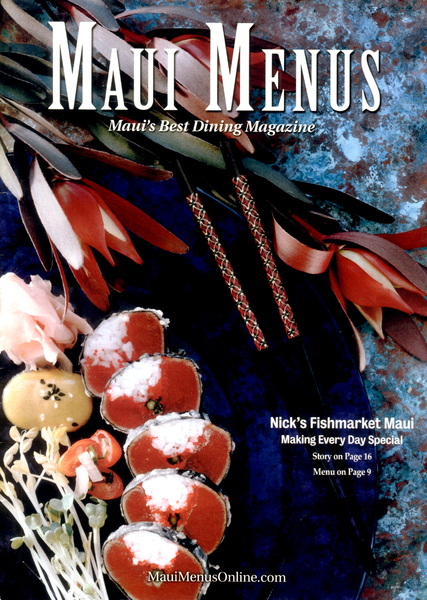 Food Photography , Editorial Photography - Cover Image/Maui Menus