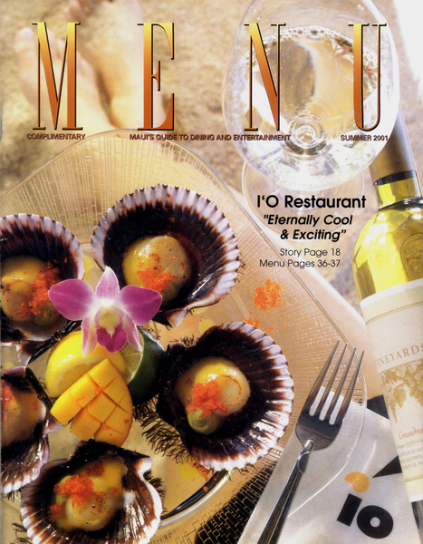 Food Photography , Editorial Photography - Cover Image/ MENU Magazine