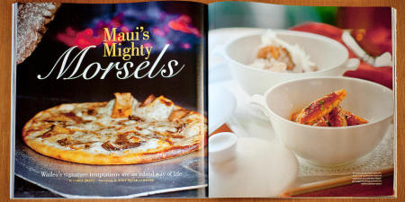 Editorial/Food Photography: Wailea Magazine